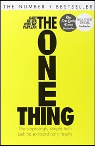 The one thing - book review