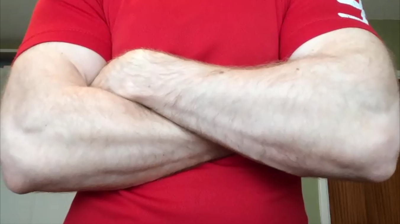 big forearms