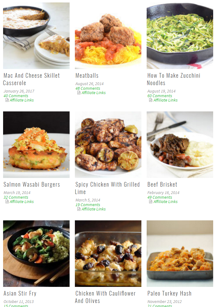 Low Carb Dinners at Elena's Pantry