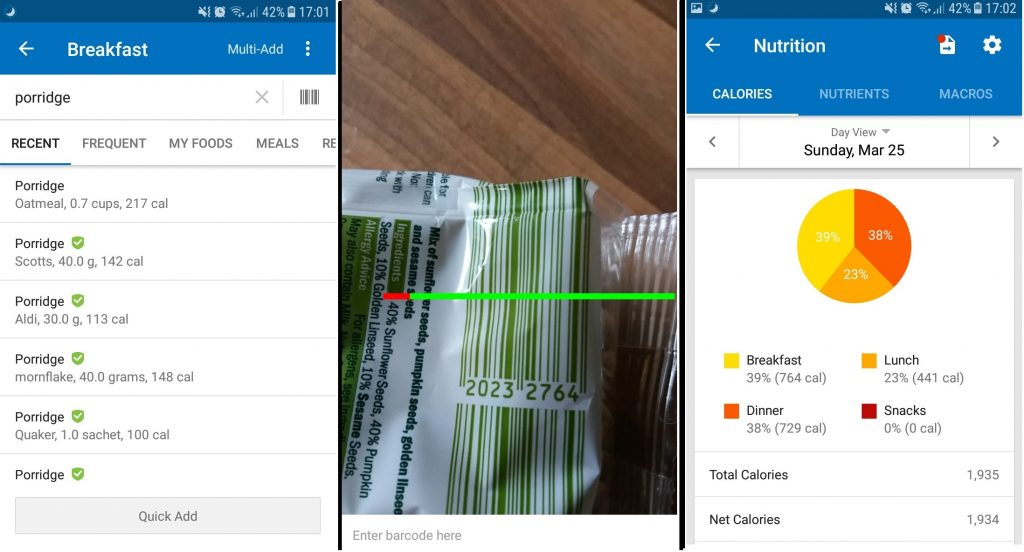 The Ultimate Fat Loss Guide myfitnesspal app