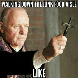 Vicar Junk Food Aisle