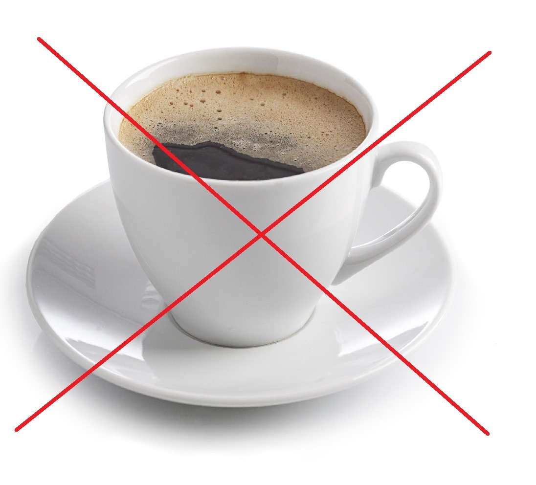 avoid coffee for stress