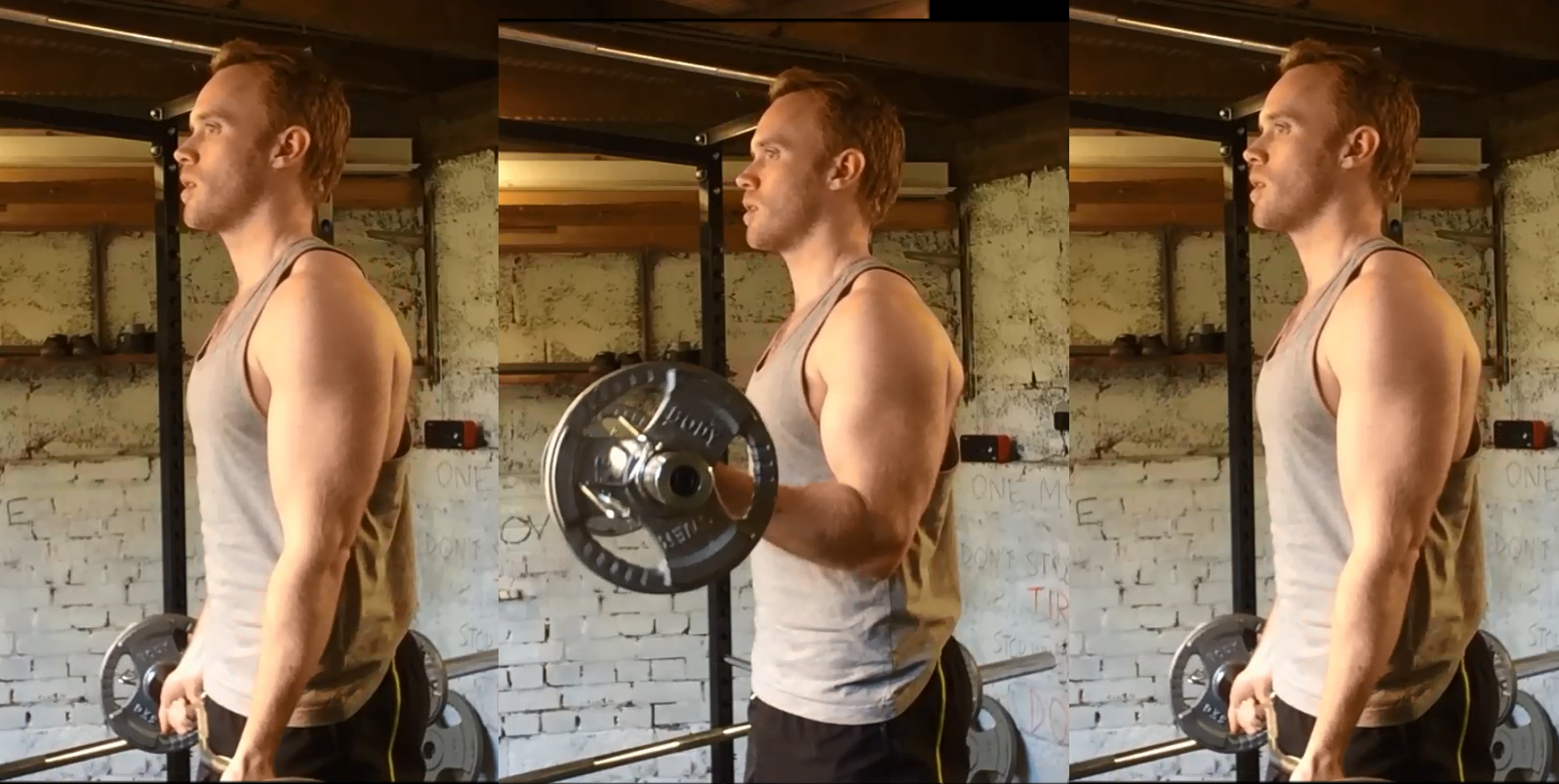 barbell 21's first 7 reps