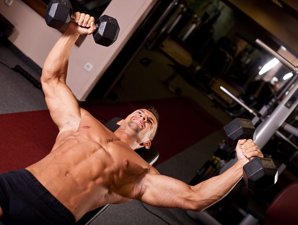 chest exercises flyes