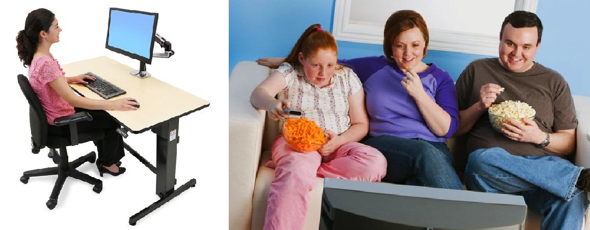 sitting vs standing