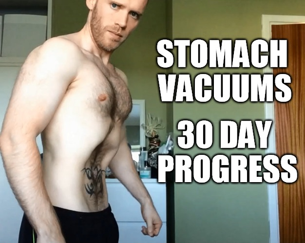 how to do stomach vacuums