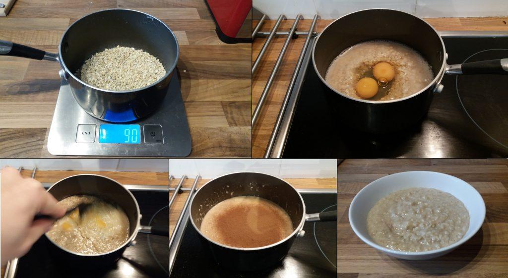 Oatmeal and Eggs