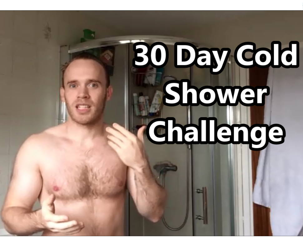 30 day cold shower challenge