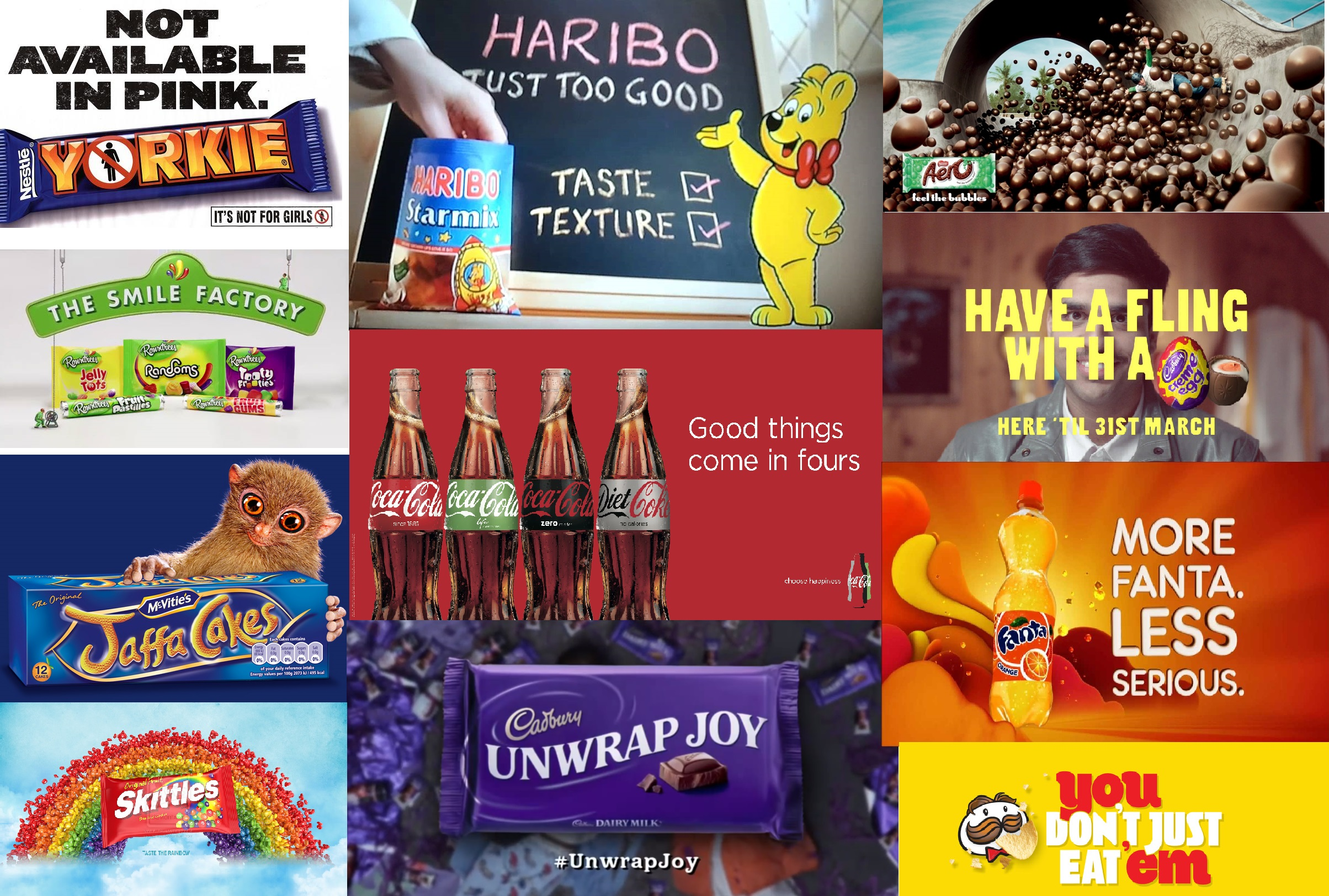 how to give up sugar - junk food advert