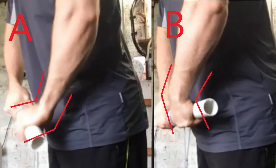 wrist roller forearm exercise