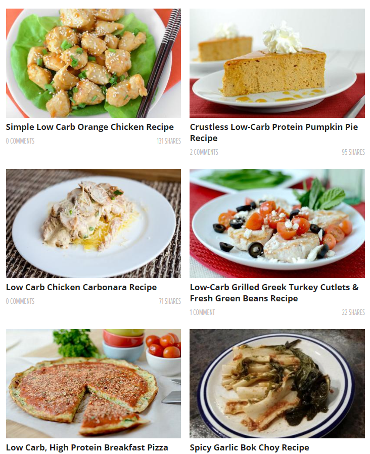 muscle strength low carb recipes