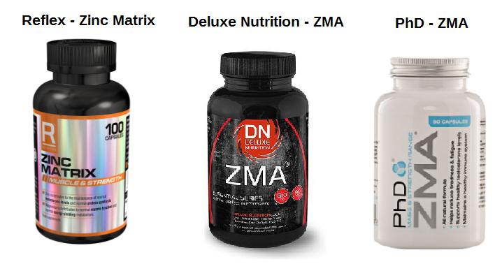ZMA zinc magnesium