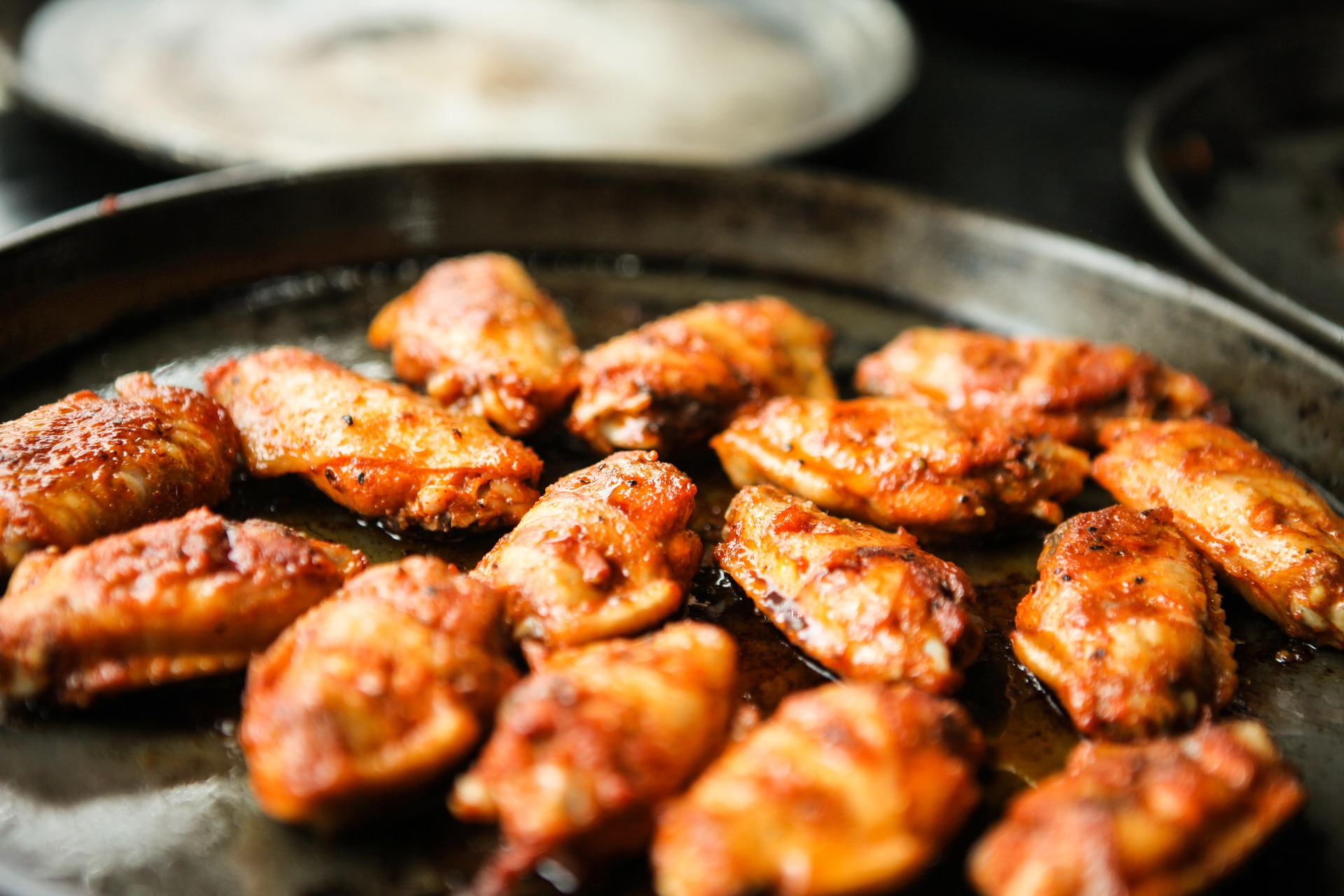 lose fat gain muscle chicken wings count calories