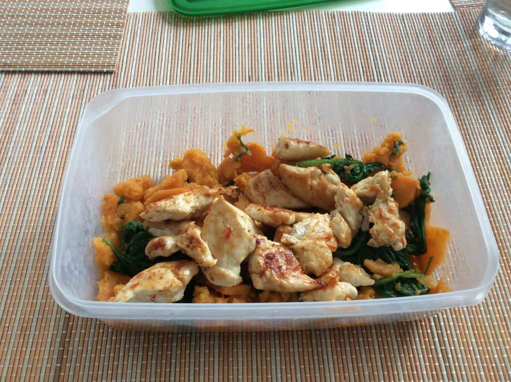 fast mimicking diet chicken sweet potato