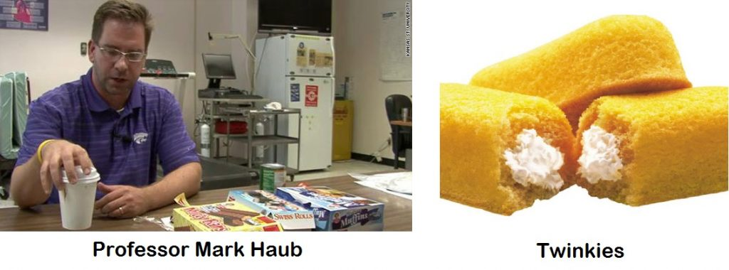 professor mark haub twinkie diet