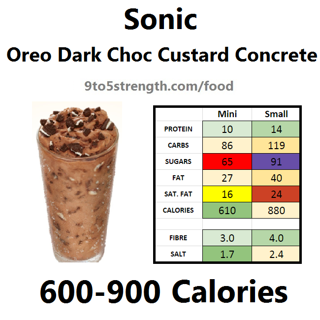 calories in sonic dark chocolate custard concrete