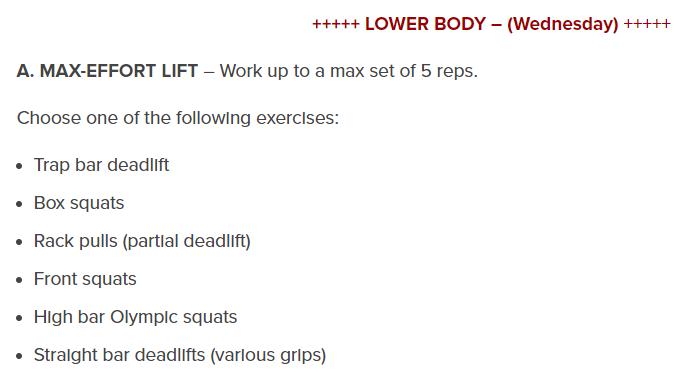 Gym Basics - Popular Workout Programs